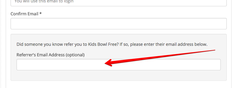 Kidsbowlfree Com Refer A Friend To Kids Bowl Free
